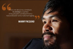 Manny Pacquiao Funny Quotes