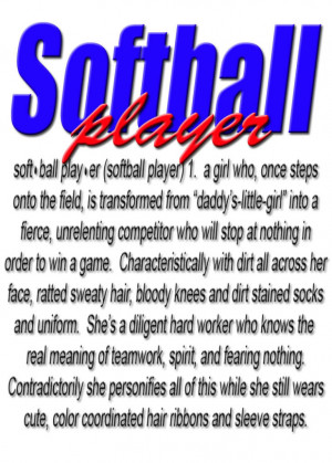 Softball Player Graphics Code | Softball Player Comments & Pictures