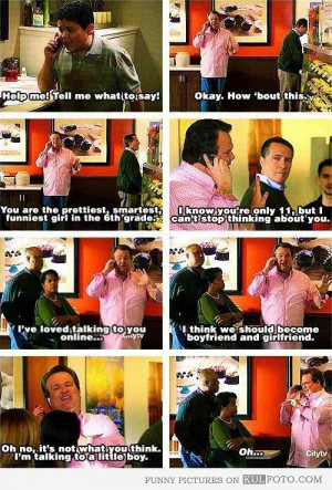 say! – Funny Modern Family quotes with Cameron trying to help Manny ...