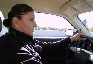 your human side? Find out what it's like to be a female police officer ...