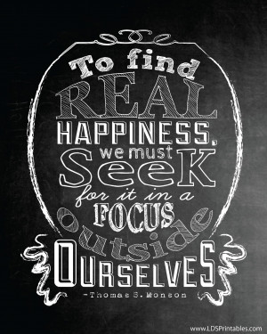 Real Happiness, Time, and Talents