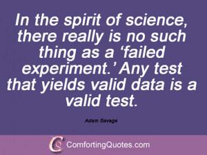 Sayings By Adam Savage