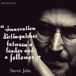 Steve Jobs quote about leadership