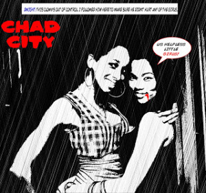 Sin City with Real Movie Quotes.