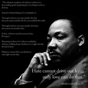 Martin Luther King Jr.: On America's Response To Terrorism