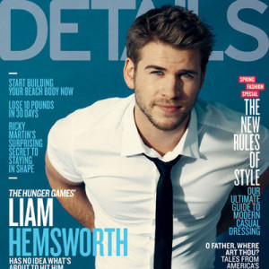 Liam Hemsworth Details Magazine Pictures Quotes Hunger Games Miley