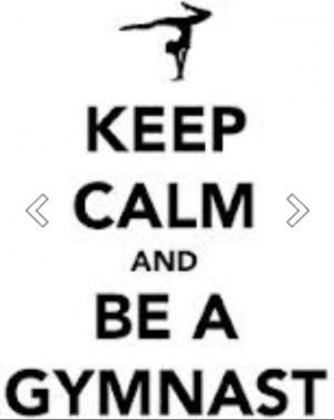 Keep calm and be a gymnast(: