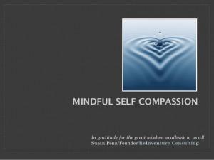 Mindful self compassion slides
