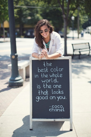 coco chanel, colors, photography, quotes, words