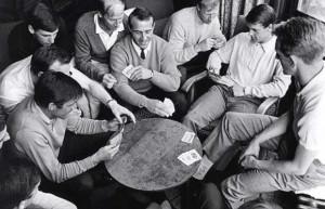 Charlton Ron Springet Jack Charlton Geoff Hurst and George Eastham