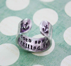 Cute Anchor Tattoos With Quotes Sailor quote, anchor ring