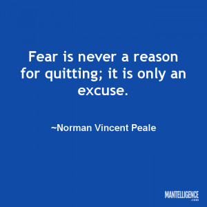 ... reason for quitting; it is only an excuse.