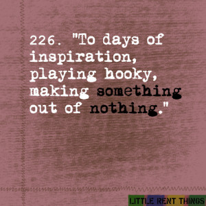 random quotes from RENT always make my day♥via: little-rent-things