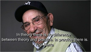 Yogi Berra Quotes | yogi berra, quotes, sayings, meaningful, practice ...