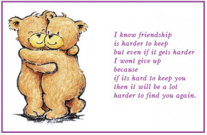 Friendship Day Quotes Wallpaper Greeting Card