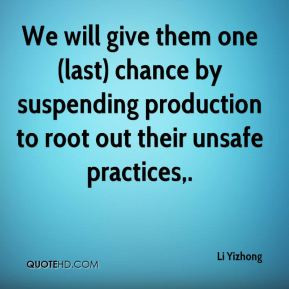 One Last Chance Quotes
