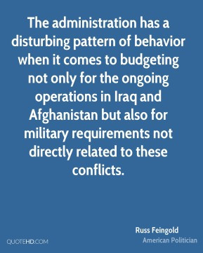 The administration has a disturbing pattern of behavior when it comes ...
