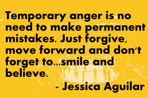 Jessica Aguilar on Anger and Forgiveness