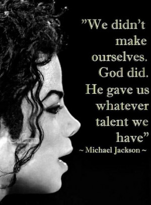 Personal Quote From Michael - michael-jackson Photo