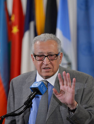 Lakhdar Brahimi Joint Special Representative of the United Nations