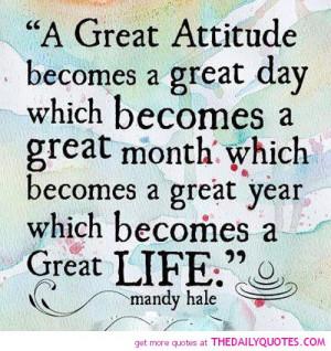 Great Attitude