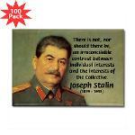 Joseph Stalin Rectangle Magnet (100 pack)