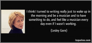 More Lesley Gore Quotes