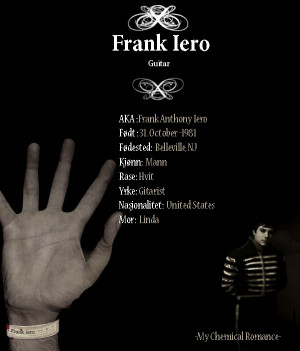 Frank Iero Funny Quotes