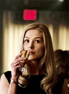 Rosamund Pike as Amy Dunne in 'Gone Girl', 2014. More