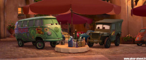 """Quotes from """"Cars 2""""."""