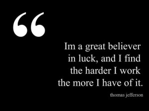 Feeling Lucky #Quote #Inspirational #Motivational #Luck