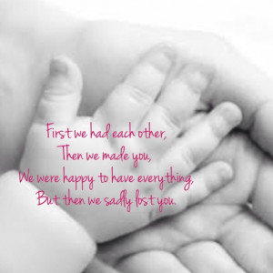 Baby Miscarriage Quotes Images