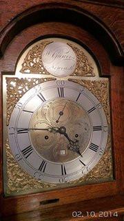 William Greaves of Newcastle Longcase clock