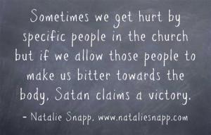 overcoming church hurt