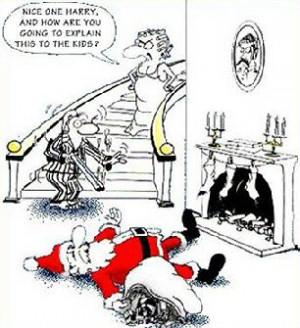 Santa Claus shot