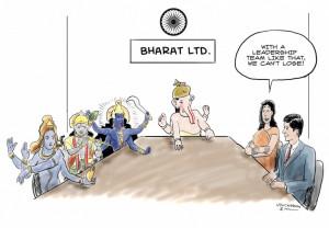 Leadership Cartoon Mark Hill