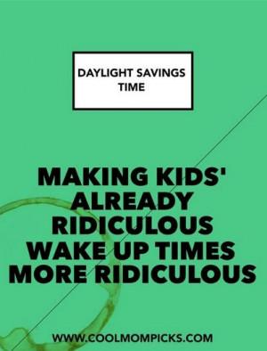 daylight savings time | cool mom tech