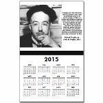 Louis de Broglie: Physics Calendar Print