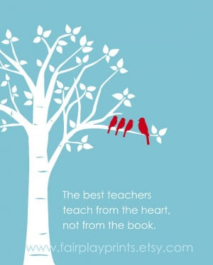 Inspirational Quote - Gift for Teacher - Teaching Quote - Art Digital ...
