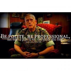 Marine quote.