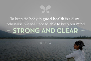 Inspirational Health And Wellness Quotes Good health quote.