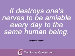 Quotes By Benjamin Disraeli