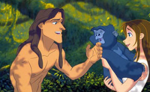 Tarzan Rating: U 5+
