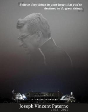 Favorite Joe Paterno Quote