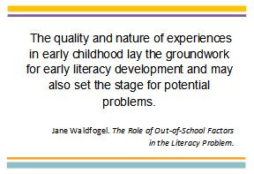 Early literacy Quote 1