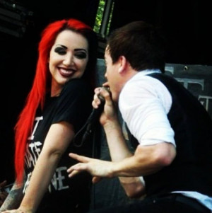 ash costello and Cody Carson #new years day #set it off