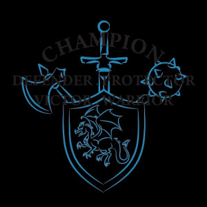 Champion Defender Protector Wall Quotes™ Decal