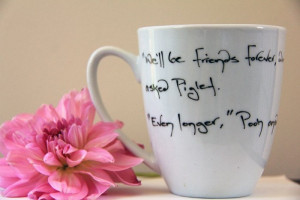 Coffee Cup - A A Milne Friends Tea Mug Quote Winnie The Pooh Piglet. $ ...