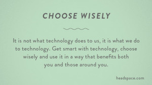 it is not what technology does to us it is what we do to technology ...