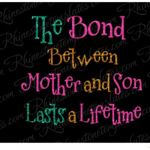 Product Code: The Bond Between Mother and Son eps svg Download